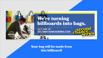 Mile High WorkShop x Second Chance Series Billboard